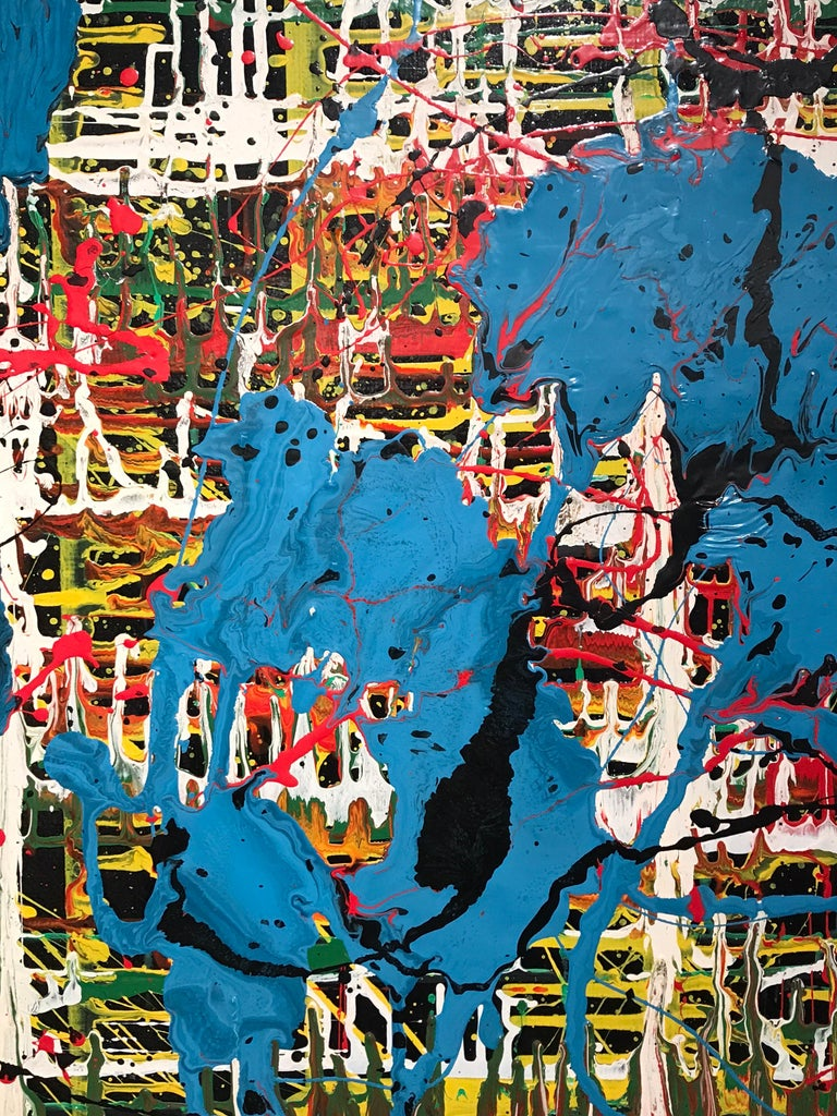 Bertina Lopes Oil on Canvas 4