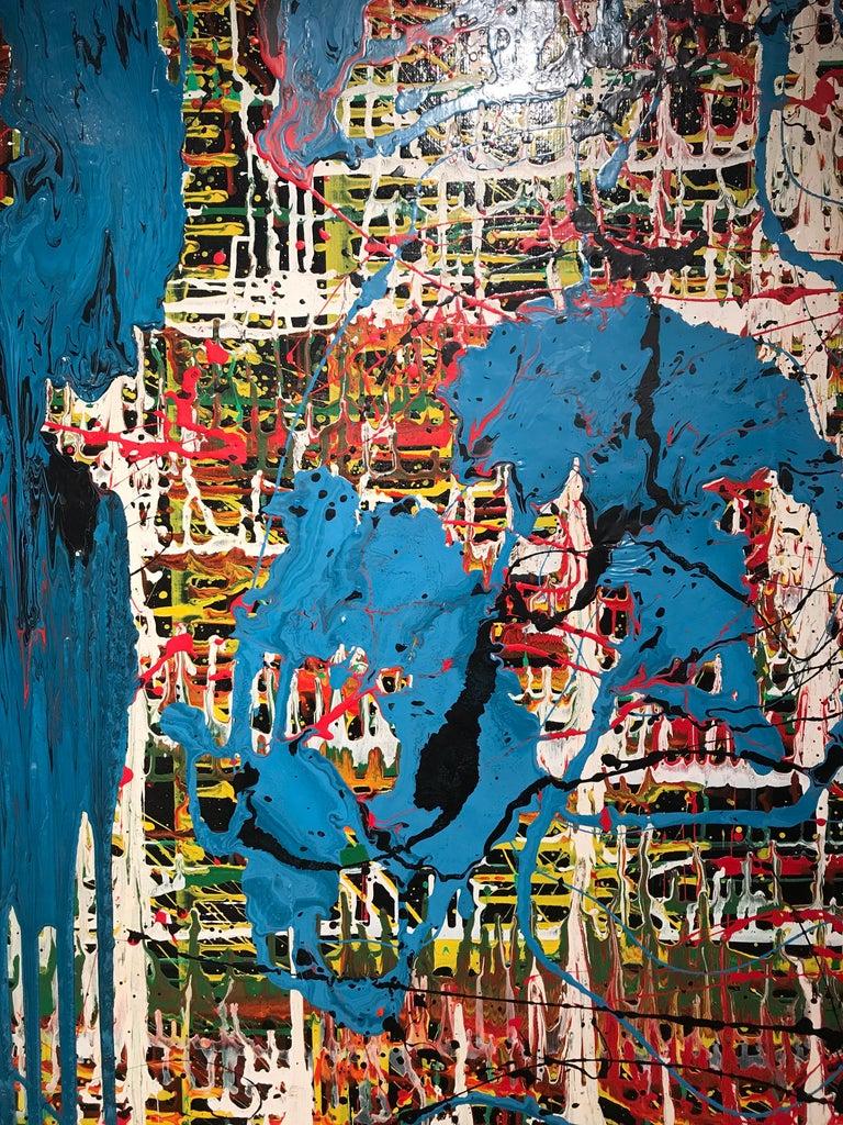 Bertina Lopes Oil on Canvas 5