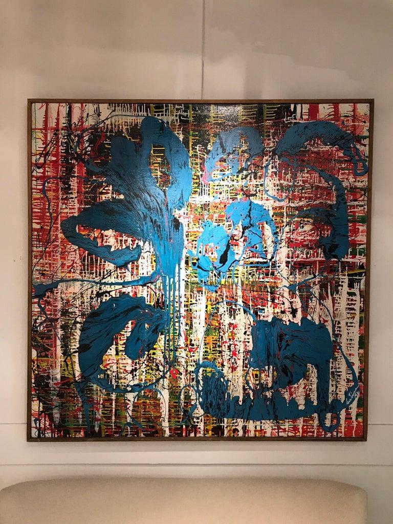 Bertina Lopes Oil on Canvas 7