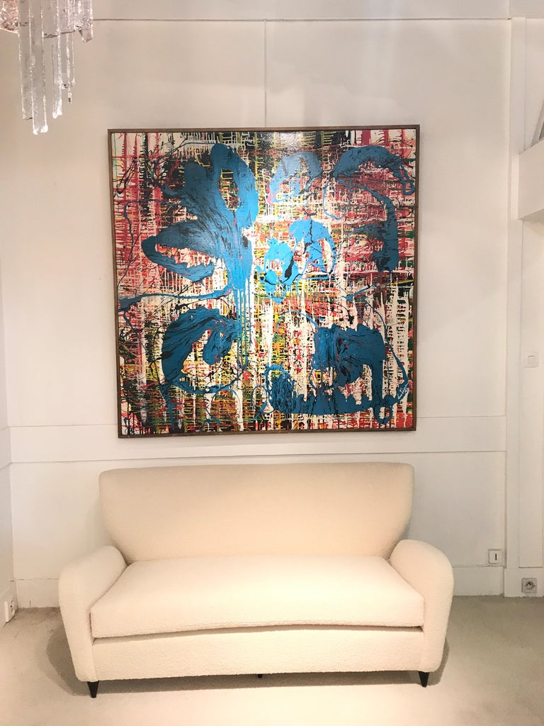 Bertina Lopes Oil on Canvas 9