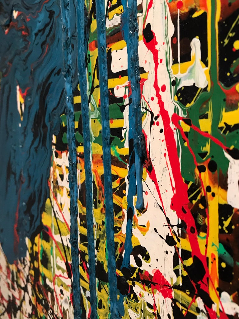 Bertina Lopes Oil on Canvas 10
