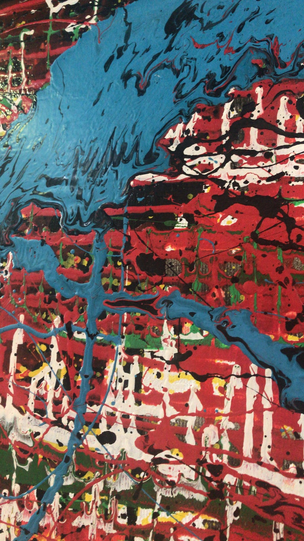 Mozambican Bertina Lopes Oil on Canvas