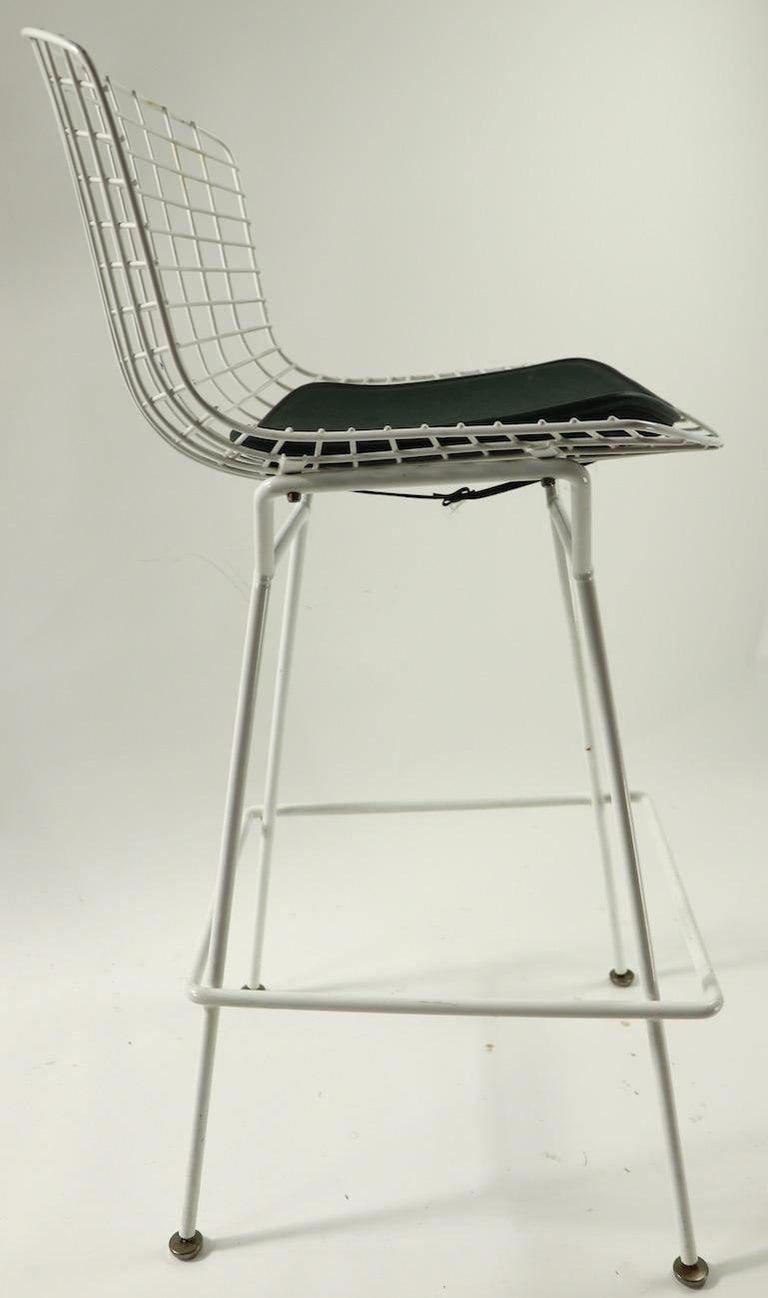 Upholstery Bertoia for Knoll Stool For Sale