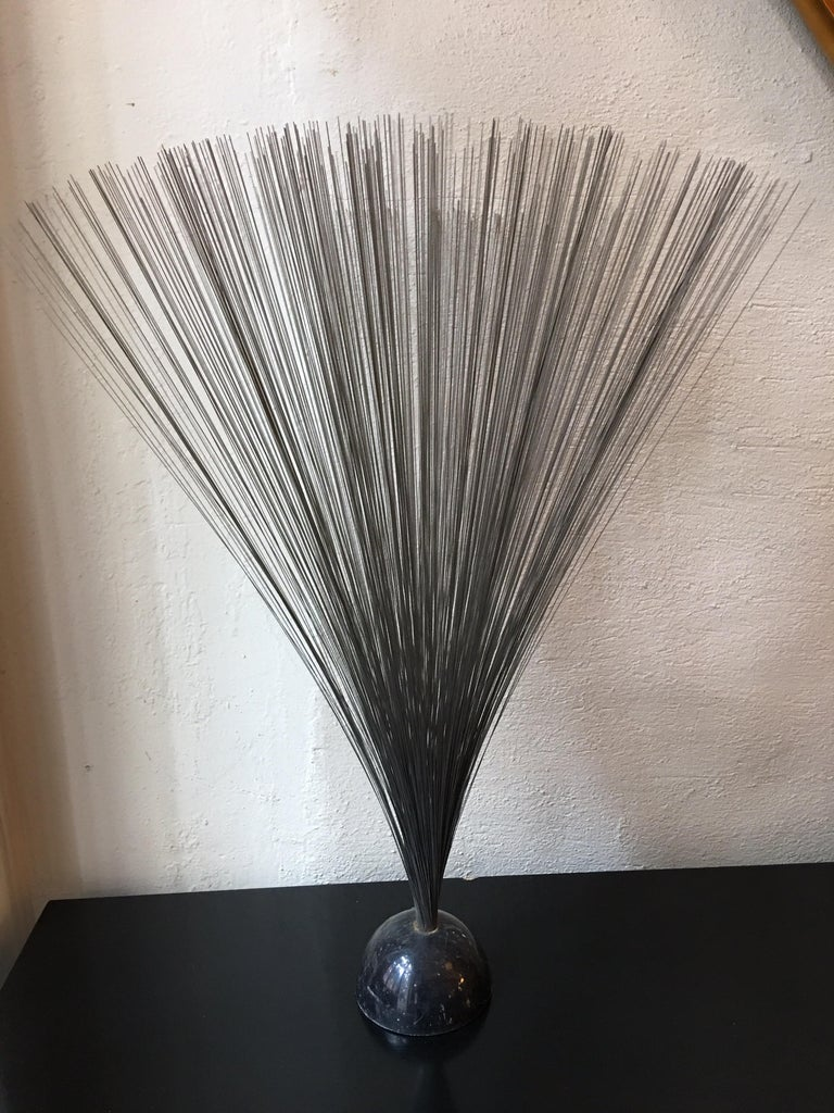 Late 20th Century Bertoia Style Sculpture For Sale