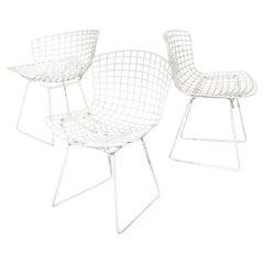 Bertoia Wire Chairs