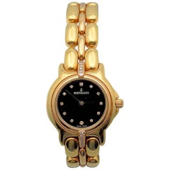 Bertolucci Ladies Yellow Gold Diamond Pulchra Wristwatch