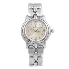 Bertolucci Pulchra Date Steel Silver Arabic Dial Quartz Unisex Watch