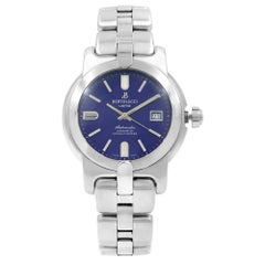 Bertolucci Uomo Blue Dial Steel Automatic Men's Luminescent Watch 884.55.41.104