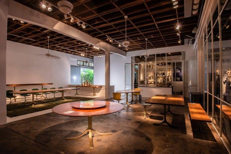 Bespoke Brutalist Meets Japan, Reclaimed Hardwood, by P. Tendercool For Sale 7