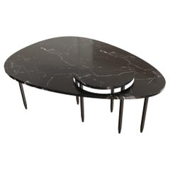 Bespoke Contemporary Marble Center Table, by Chapter 101