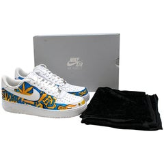 Bespoke customised by ALA  Air Force 1 Low Trainers SIZE 41