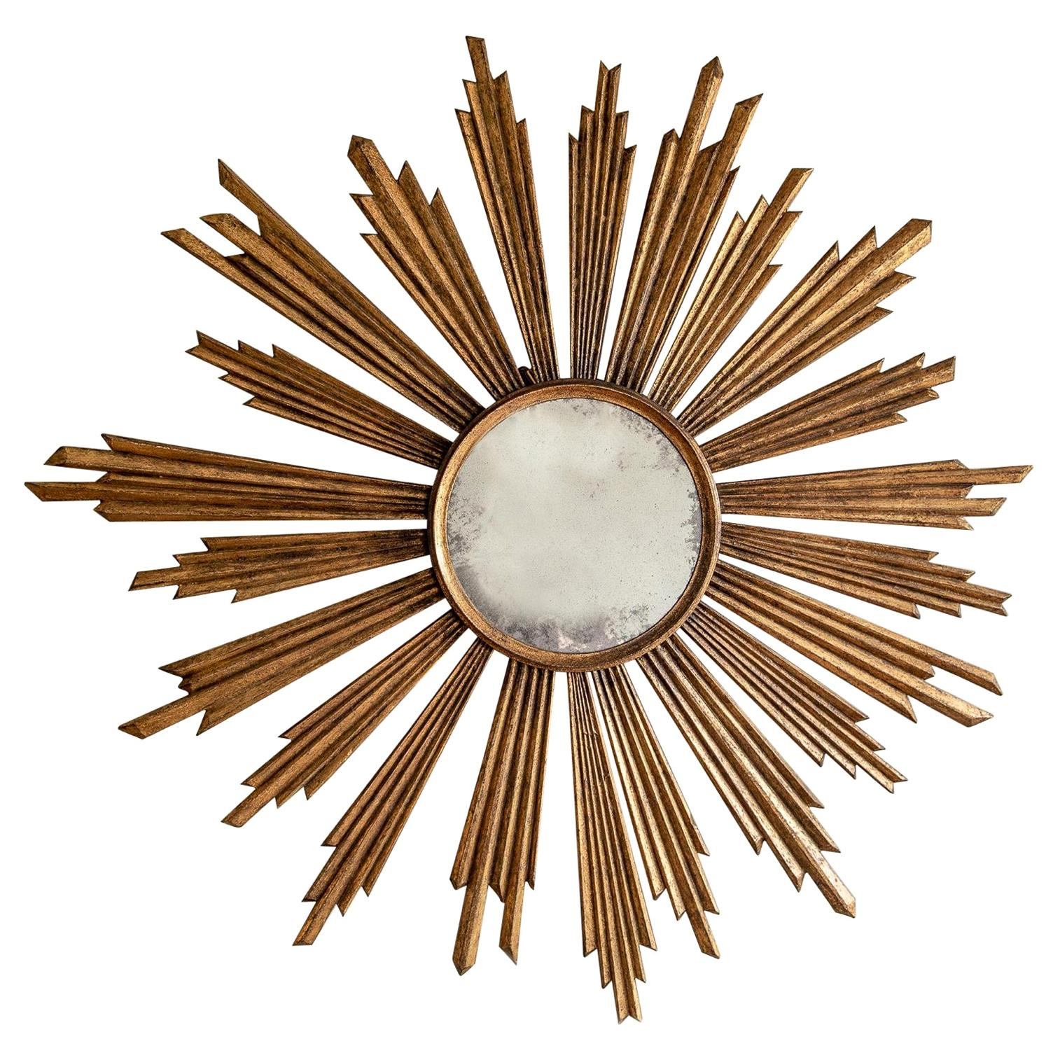 Bespoke Grand Scale Starburst Mirror - hand crafted and customised to your size