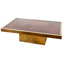 Bespoke Pinecone-Seed Coffee Table