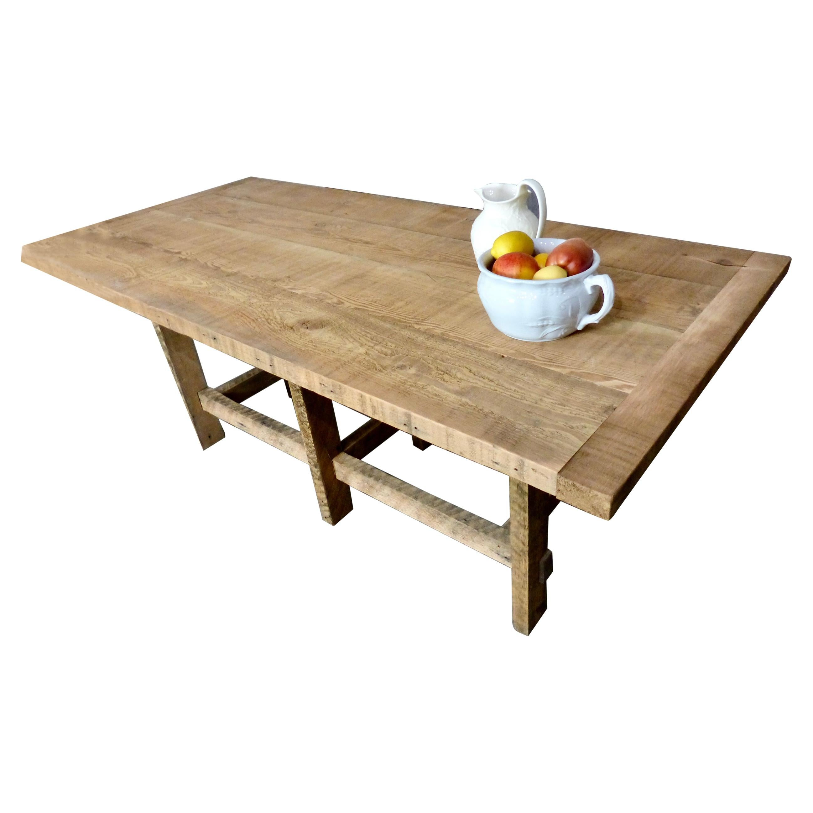 Bespoke Reclaimed Fir Dining Table