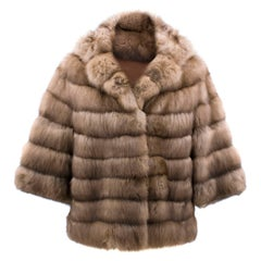Bespoke Sable Fur Jacket - Size: XS