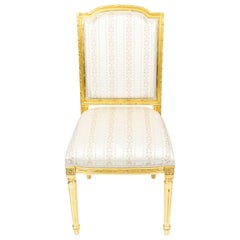 Bespoke Sets of Giltwood Dining Chairs in the Louis XV Style Available to Order