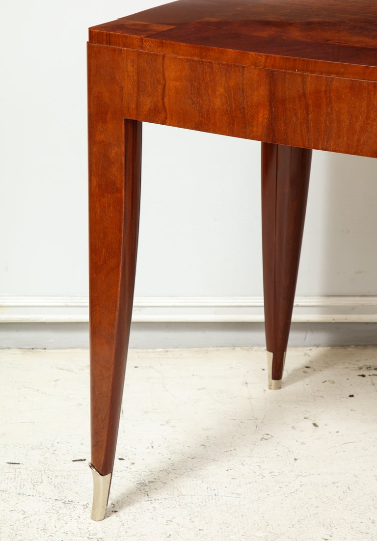 Bespoke Table in the Manner of Jules Leleu For Sale 1