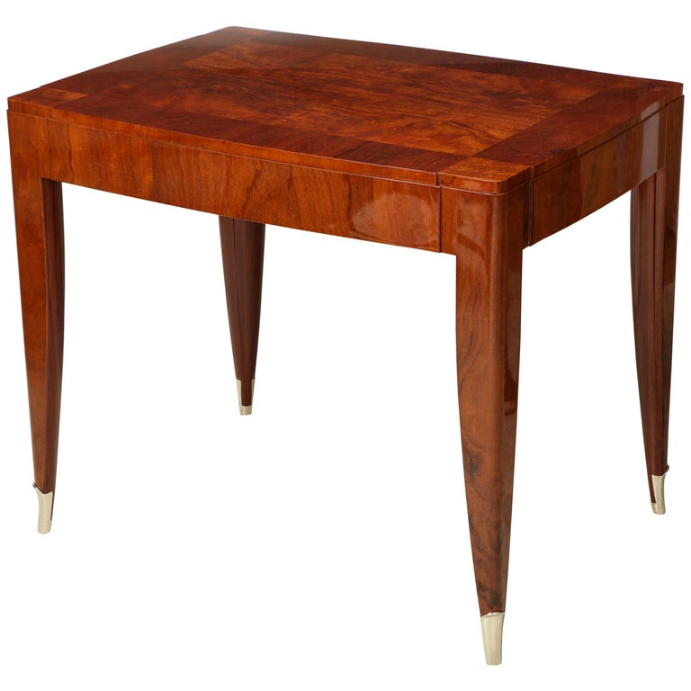 Bespoke Table in the Manner of Jules Leleu For Sale