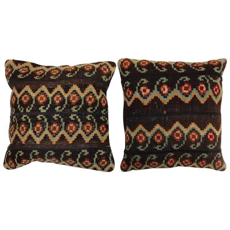 Besserabian Turkish Kilim Pillows For Sale