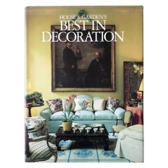Best in Decoration Book by House & Garden Magazine