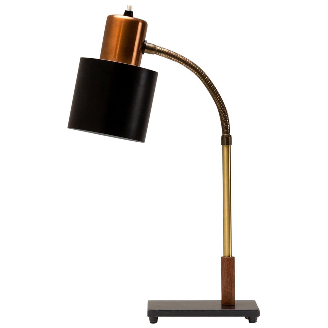 Beta Desk Lamp by Jo Hammerborg for Fog & Mørup, Denmark, 1960s