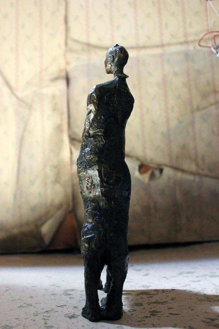 Beth Carter; Pantomime; Bronze; Ap; Unique; circa 1996 For Sale 9
