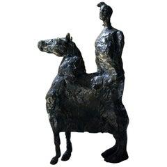 Beth Carter; Pantomime; Bronze; Ap; Unique; circa 1996