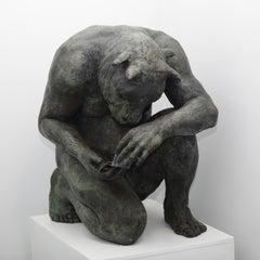Crouching Minotaur (giant)