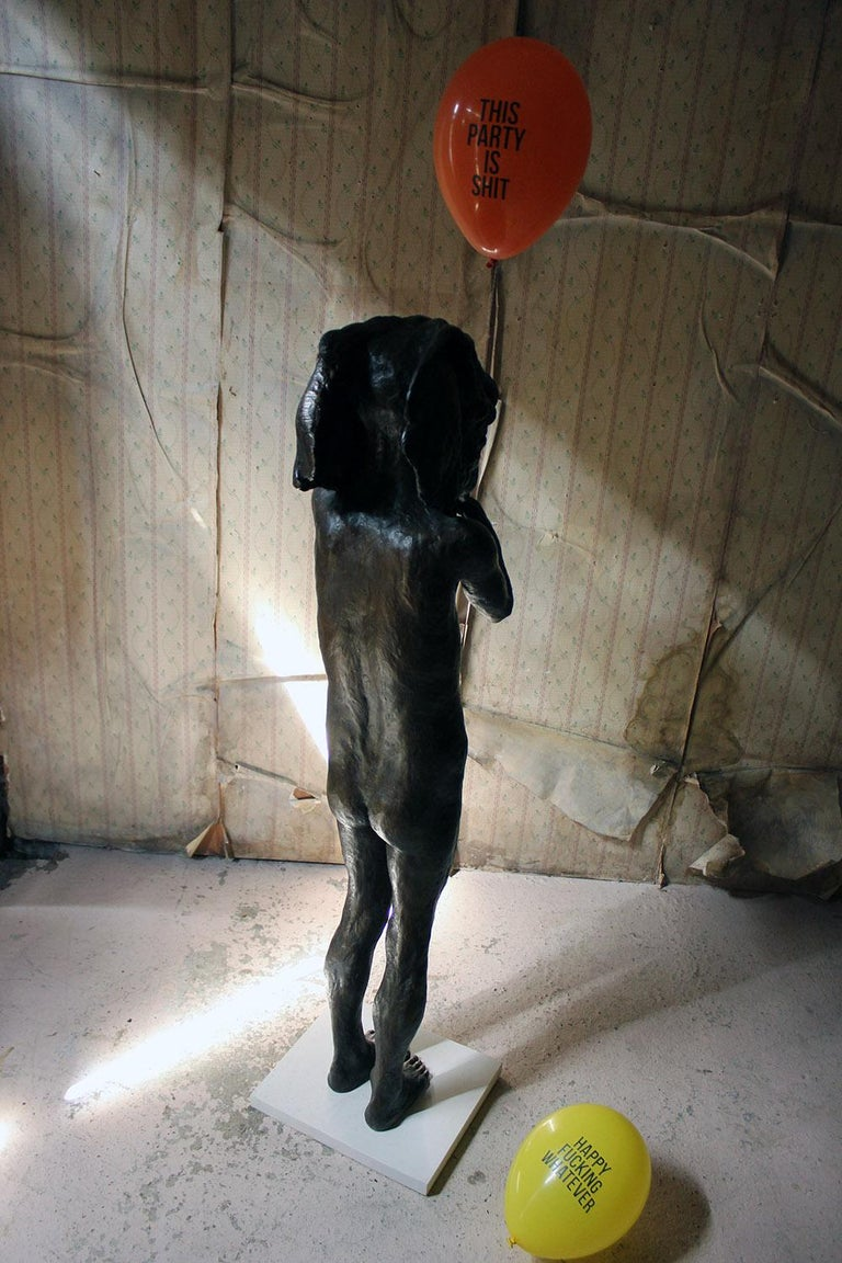 Beth Carter, Standing Elephant, Bronze Resin, 2014, Edition 2 of 15 For Sale 8
