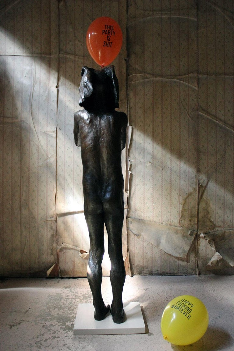 Beth Carter, Standing Elephant, Bronze Resin, 2014, Edition 2 of 15 For Sale 10