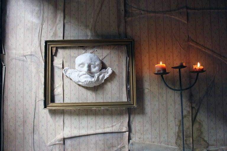 Beth Carter, 'Wide Face Sad Face Mask', Jesmonite and Plaster, Unique For Sale 4