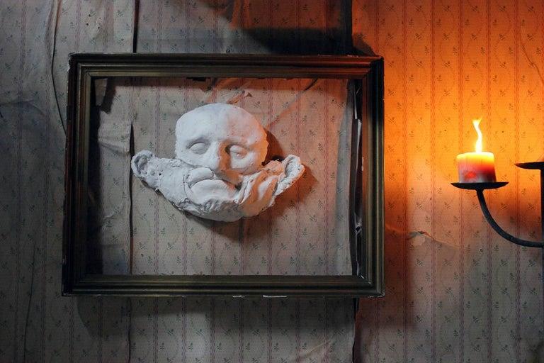Beth Carter, 'Wide Face Sad Face Mask', Jesmonite and Plaster, Unique For Sale 5