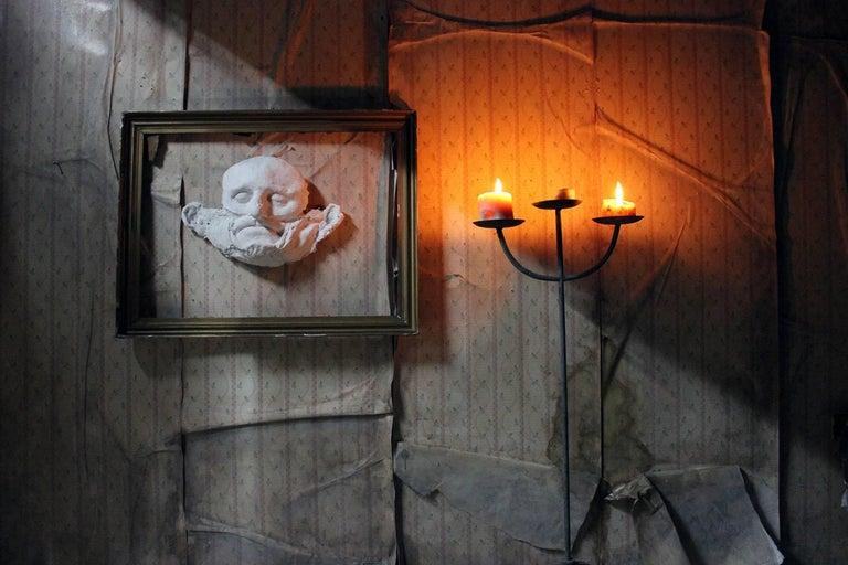 Beth Carter, 'Wide Face Sad Face Mask', Jesmonite and Plaster, Unique For Sale 6