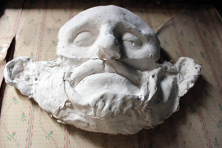Contemporary Beth Carter, 'Wide Face Sad Face Mask', Jesmonite and Plaster, Unique For Sale