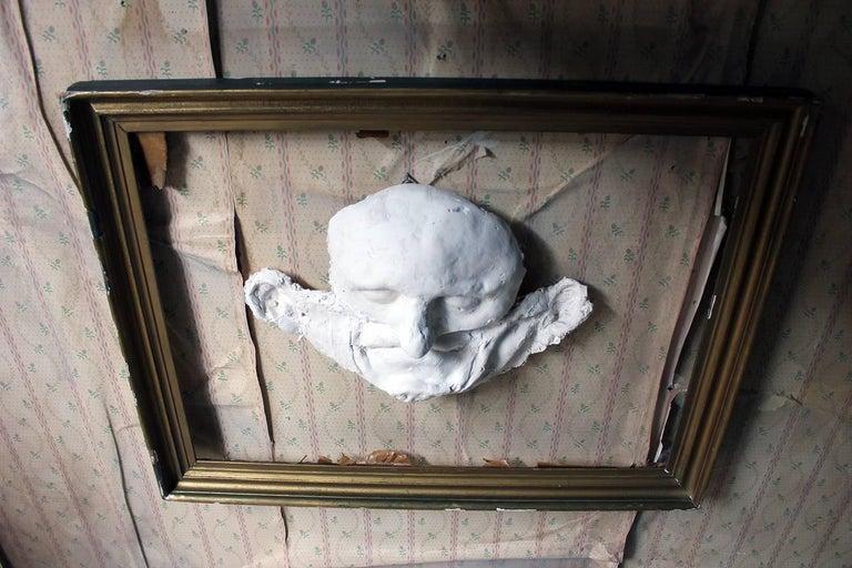 Beth Carter, 'Wide Face Sad Face Mask', Jesmonite and Plaster, Unique For Sale 1