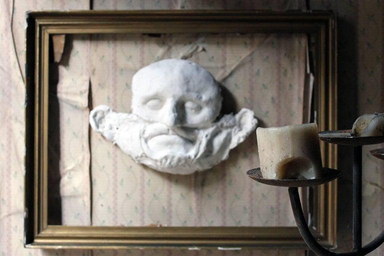 Beth Carter, 'Wide Face Sad Face Mask', Jesmonite and Plaster, Unique For Sale 2