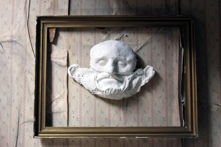 Beth Carter, 'Wide Face Sad Face Mask', Jesmonite and Plaster, Unique For Sale 3