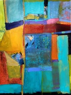 Take Me Away, Mixed Media on Canvas