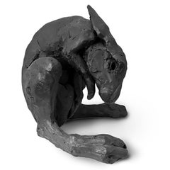 Untitled Black Hare by Beth Cavener (INV# NP3147)
