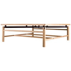 Beth Coffee Table, Rift White Oak, Wenge, Custom, Semigood Design, Modern