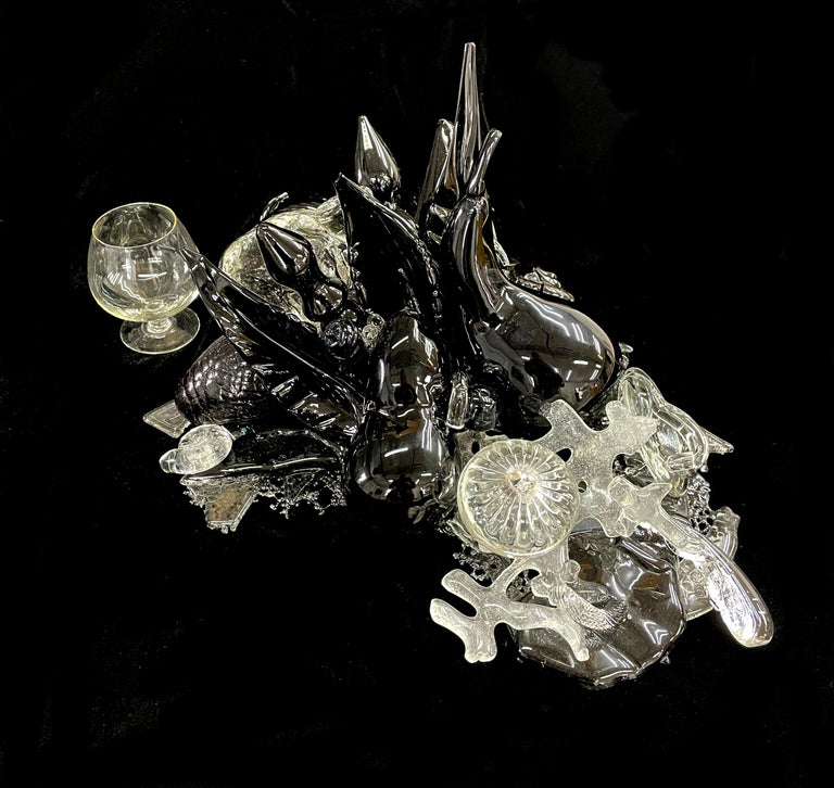 Beth Lipman Still-Life Sculpture - Cluster #17