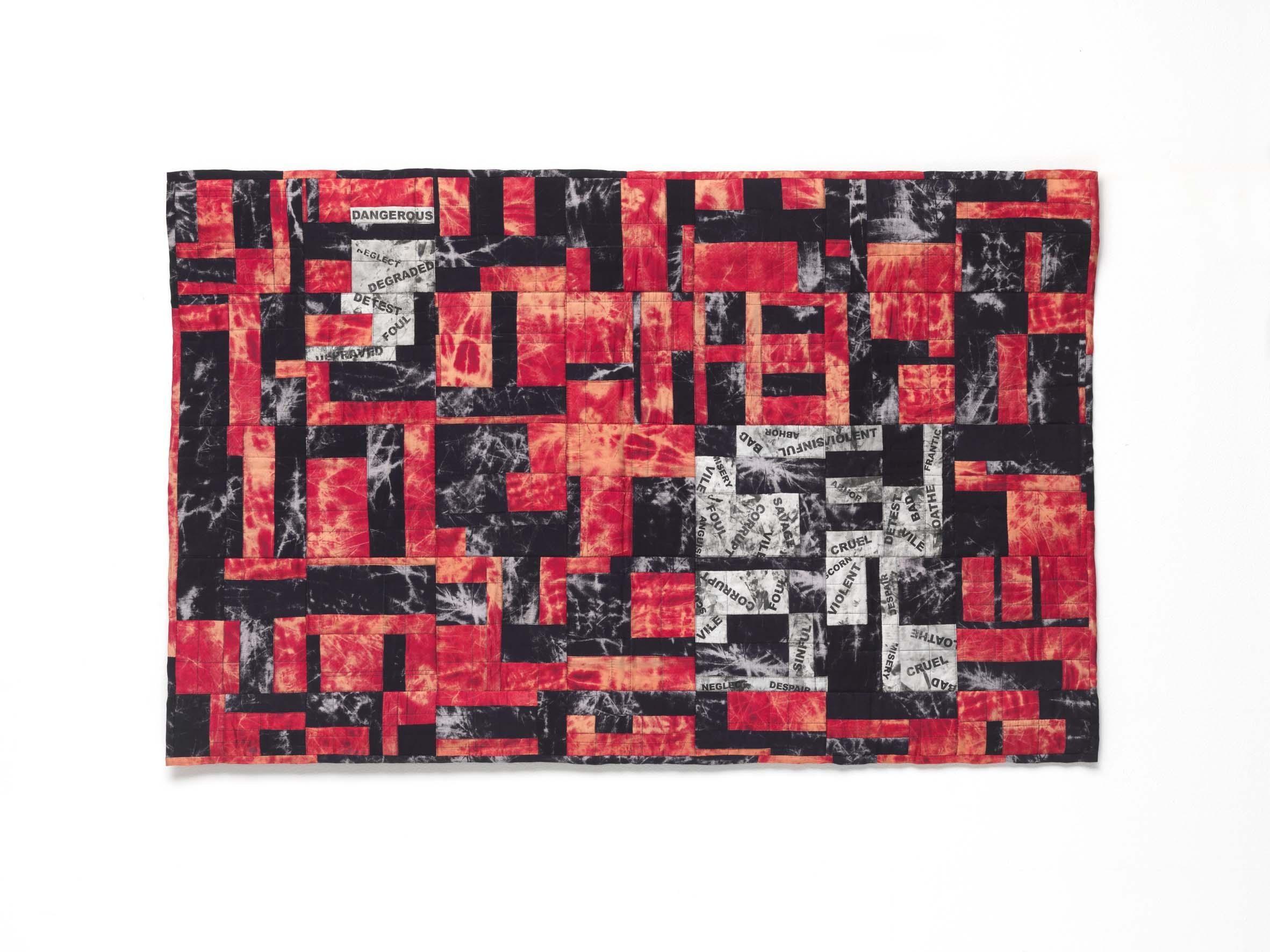 Vicious, Contemporary Quilt