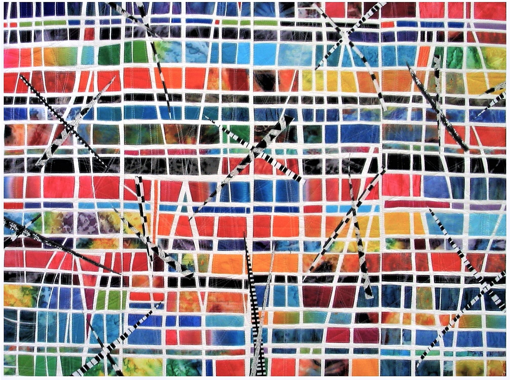 """Windows"", Contemporary Quilt"