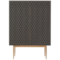Bethan Gray Nizwa Large Bar in Charcoal and Brass