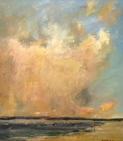 To Banish Even from Her Sky by Bethanne Cople, Plein Air Beach Painting
