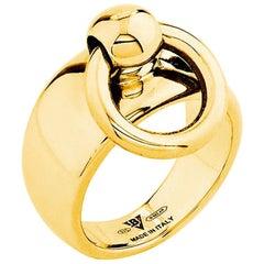 """Betony Vernon """"O-Ring Band Medium Ring"""" Ring 18 Karat Gold in Stock"""