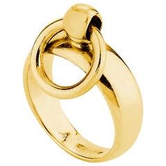 """Betony Vernon """"O-Ring Band Mini Ring"""" Ring 18 Karat Gold in Stock"""