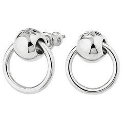 """Betony Vernon """"O'Ring Earrings"""" Sterling Silver 925"""