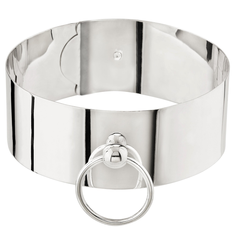 """Betony Vernon """"O'Ring Slave Choker"""" Necklace Silver 925 in Stock"""