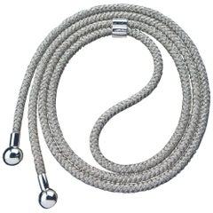 "Betony Vernon ""Shibari Belt"" Sterling Silver 925 Rope in Stock"